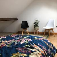 Lovely Loft with airbed! Must climb loft ladder