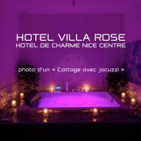 Hotel Villa Rose, viešbutis Nicoje