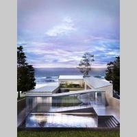 Casa moderna a pie de playa