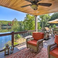 Waterfront Retreat with Boat Dock & Beach Area!