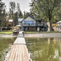 House with Dock on Diamond Lake - 38Mi to Spokane