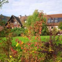 House with 3 bedrooms in Thannenkirch with wonderful mountain view furnished garden and WiFi 30 km from the slopes, hotel in Thannenkirch