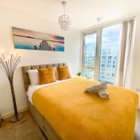 Luxury 1 Bedroom Hub Apartment with Free Parking and Netflix by Yoko Property