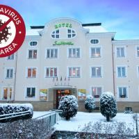 Active & Wellness Hotel Subterra, hotel in Ostrov