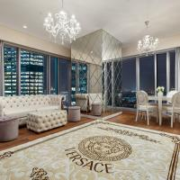 Luxury Апартаменты с камином в Москва-сити в стиле неоклассика либо модерн Выбери свой стиль