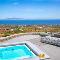 Luxury Santorini Villa Villa Elysian Dyo Private Hot Tub Air Conditioning 1 Bedroom Oia