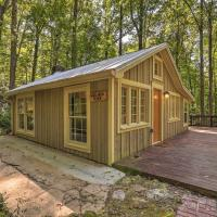 Private Cabin with Deck, 25 Miles from Atlanta!