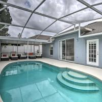 1-Story Apopka House with Private Lanai & Pool!, hotel in Orlando
