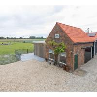 Wonderfully quietly situated in the polder, close to the beach