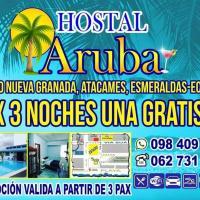 Hostal Aruba, hotel em Atacames