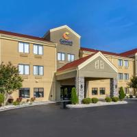 Comfort Inn & Suites Troutville - Roanoke North / Daleville, hotel in Troutville