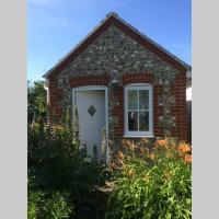 Quiet garden studio with parking Rottingdean Brighton