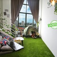 Private Forest Camp - Cinema, Hammock, Swing at CEO Penang