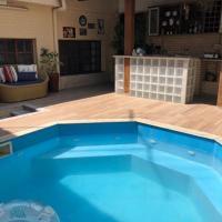 Casa ampla com piscina e churrasqueira a 100 melhores das melhores praias em Guarapari
