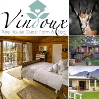 Vindoux Tree House Guest Farm & Spa, hotel in Tulbagh