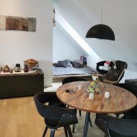 Cosy Office Style Loft 10 min from Würzburg City center 100 qm, отель в городе Thüngersheim