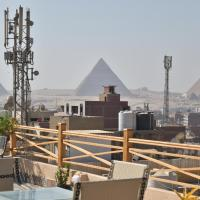 Egy pyramids view, hotel in Cairo