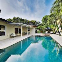 Tropical Retreat - Heated Pool, Spa, Walk to Beach home