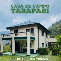 Casa de Campo Tarapari Yungas, отель в городе Чулумани