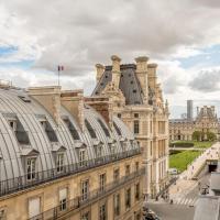 Appartement avec vue imprenable sur le Louvre
