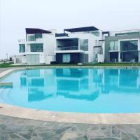 Beachfront Apartment in Asia, Lima, Peru, hotel in Asia