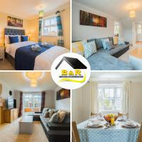 Javelin House- B and R Serviced Accommodation Amesbury, 3 Bed Detached House with Free Parking, Super Fast Wi-Fi and 4K Smart TV