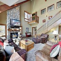 Mountainside Condo with Deck, Fireplace & Hot Tub condo
