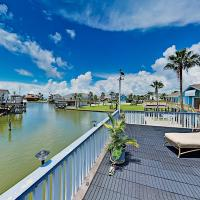 Waterfront Island Tiki House with Boat Slip & Deck! home