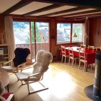 Gemütliche Dachwohnung im Chalet mit Bergblick