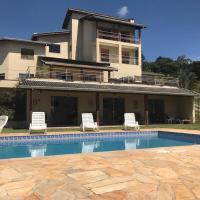 Chácara com piscina, jogos e wi-fi em Campo Limpo, hotel in Campo Limpo