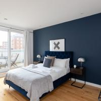 LCA - Luxury Apartment with Balcony in Camden Central London