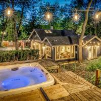 Secluded Fenced Cottage W Dune Top Hot Tub Near Hiking Dog Friendly