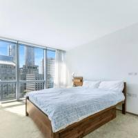 High Floor 1 Bedroom Luxury Apartment Canary Wharf