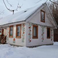 Уютный 2х этажный дом шале с русской баней на дровах и мангальной зоной, отель в Воробьях