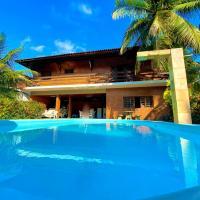 Ótima chácara com piscina, churrasqueira e quadra de areia