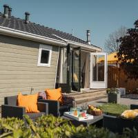 Nice chalet with a microwave, near the Wadden Sea