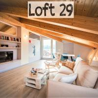 Loft 29 mansardato con ampio terrazzo