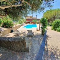 Apartment with 3 bedrooms in Pergusa with wonderful lake view private pool enclosed garden 80 km from the beach, hotel a Pergusa
