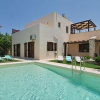 Plaka Villa Sleeps 7 with Pool and Air Con