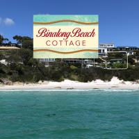 BINALONG BEACH COTTAGE Beachfront at Bay of Fires Next to Restaurant, hotel em Binalong Bay