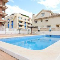 Estudio para parejas con piscina en Canet playa