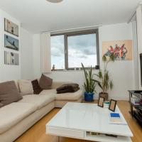 Centrally located spacious flat with amazing views