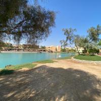 Lagoon view cozy studio in El Gouna, hotel in Hurghada