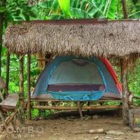Singalong Salceda's Mountain View Kawa Bath and Garden Camp Tent Adventure