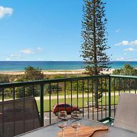 Boardwalk Pacific Unit 8 - On the Beachfront in Bilinga, hotel near Gold Coast Airport - OOL, Gold Coast
