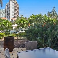 Calypso Plaza Resort Unit 141 Studio style apartment - Beachfront Coolangatta, hotel in Coolangatta, Gold Coast