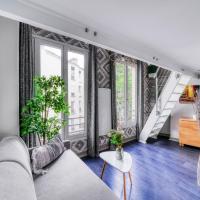 Buttes Chaumont - Amazing duplex - 6062