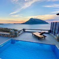 Kastelli Blu SKY - Luxury Designer Pool Villa with Yoga Platform