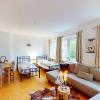 Ginius Homes- train station wood style apartment