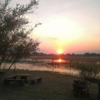 Hippo Island Okavango